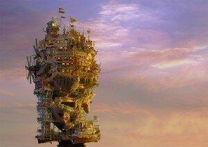 """Những tác phẩm """"lâu đài Bonsai"""" của nghệ nhân Takanori Aiba"""