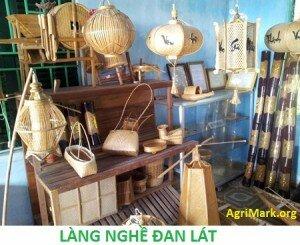 Làng nghề đan lát truyền thống nổi tiếng của xứ Huế