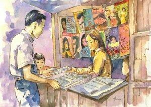 Ngắm những bìa báo xuân của Saigon xưa