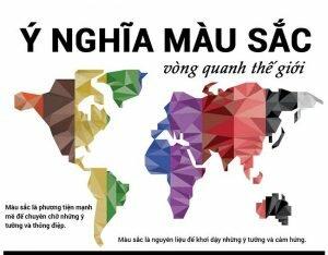 Ý nghĩa của Màu sắc trong các nền văn hóa và tôn giáo trên thế giới
